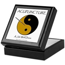 Acupuncture Keepsake Box