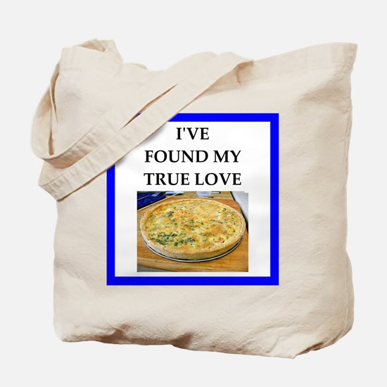 quiche Tote Bag
