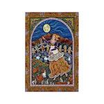 Autumn Moon Maiden Rectangle Magnet (10 pack)