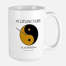 Acupuncture Large Mug