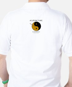 Acupuncture (front & back) T-Shirt