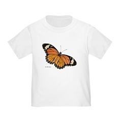 Orange Black Butterfly T