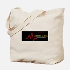Crime Wire Tote Bag