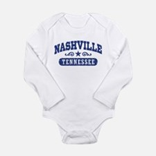 Nashville Tennessee Long Sleeve Infant Bodysuit