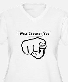 I Will Crochet You Plus Size T-Shirt