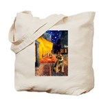 Ter Cafe / Border T Tote Bag