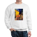 Ter Cafe / Border T Sweatshirt