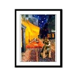 Ter Cafe / Border T Framed Panel Print