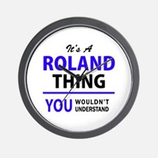 ROLAND thing, you wouldn't understand! Wall Clock