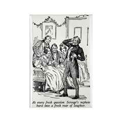 Scrooge's Nephew Rectangle Magnet (10 pack)