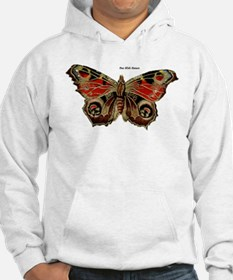 Brown Painted Butterfly (Front) Hoodie
