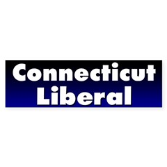 Connecticut Liberal Bumper Sticker