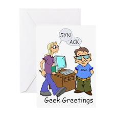 Geek Greetings Greeting Card