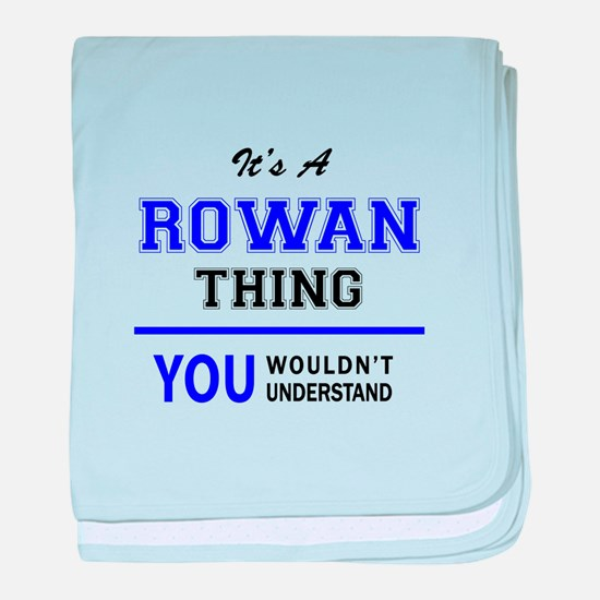 ROWAN thing, you wouldn't understand! baby blanket
