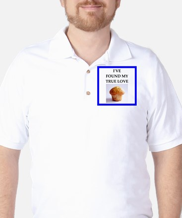 corn muffin Golf Shirt
