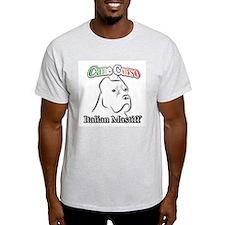 Cane Corso white t T-Shirt