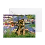 Lilies 2 / Border T Greeting Cards (Pk of 10)