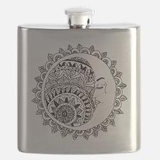 Funny Moon Flask