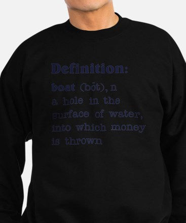 Boat Definition Sweatshirt