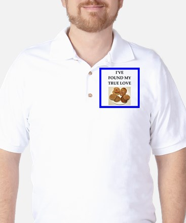 true love food joke Golf Shirt
