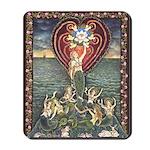 Mermaid Messengers Mousepad