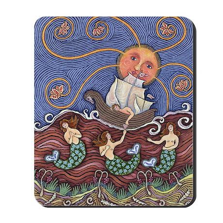 A Mermaid In Love Mousepad