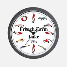 French Farm Lake Clocks Wall Clock