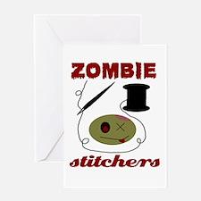 zombie stitchers Greeting Card