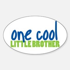 one cool little brother Oval Decal