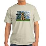 Lilies 1 / Border T Light T-Shirt