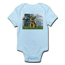 Lilies 1 / Border T Infant Bodysuit