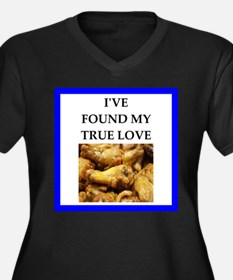 chicken wings Plus Size T-Shirt