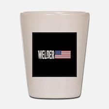 Careers: Welder (U.S. Flag) Shot Glass