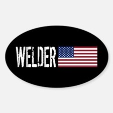 Careers: Welder (U.S. Flag) Decal