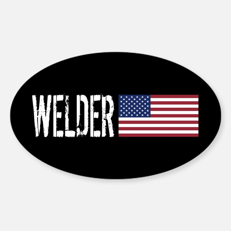 Careers: Welder (U.S. Flag) Decal