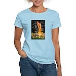 Mid Eve/Border T Women's Light T-Shirt