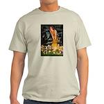 Mid Eve/Border T Light T-Shirt