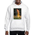 Mid Eve/Border T Hooded Sweatshirt