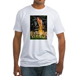 Mid Eve/Border T Fitted T-Shirt