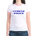The Cubicle Police Jr. Ringer T-Shirt