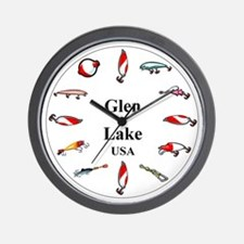 Glen Lake Clocks Wall Clock