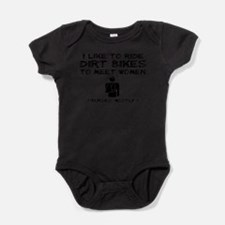 Cute Dirt bike Baby Bodysuit