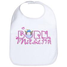 Born Muslim (pink) Bib