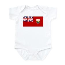 Manitoba Flag Infant Bodysuit