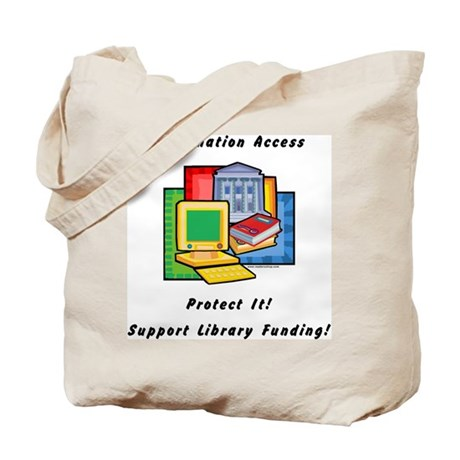 Information Access Tote Bag