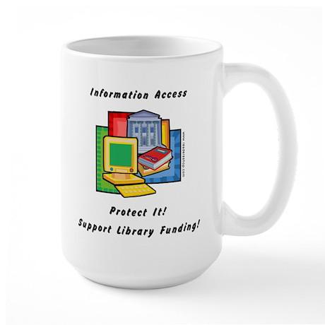Information Access Large Mug
