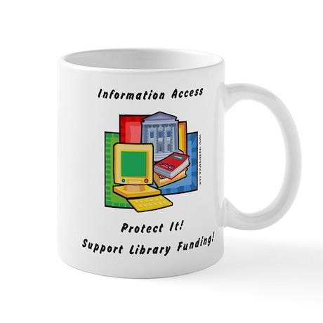 Information Access Mug