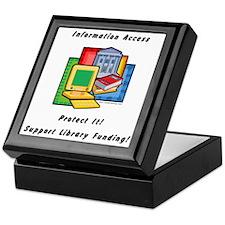 Information Access Keepsake Box