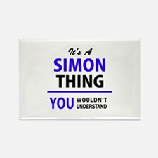 SIMON thing, you wouldn't understand! Magnets
