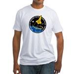 ISS STS-120 Mission Fitted T-Shirt